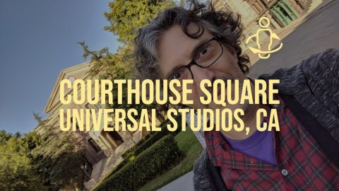 Courthouse Square is a backlot situated at Universal Studios