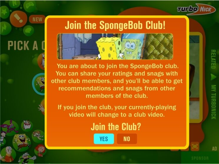 Show Fan Club UI