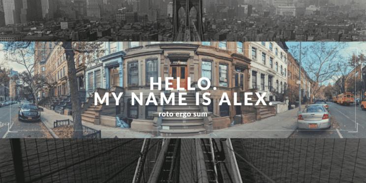 Hi. I'm Alex.