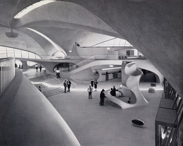 TWA Flight Center at JFK Eero Saarinen