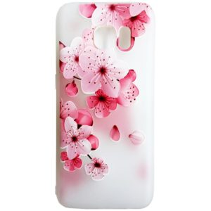 5ac98d9a653 Husa Silicon, 3D Relief, Flower Pink, Samsung Galaxy S8