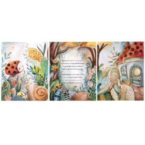 Set of 3 canvas arts wit ladybug theme and custom text