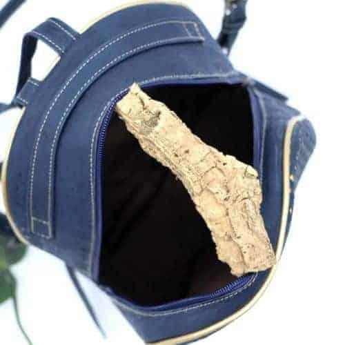 Rucksack aus Korkleder