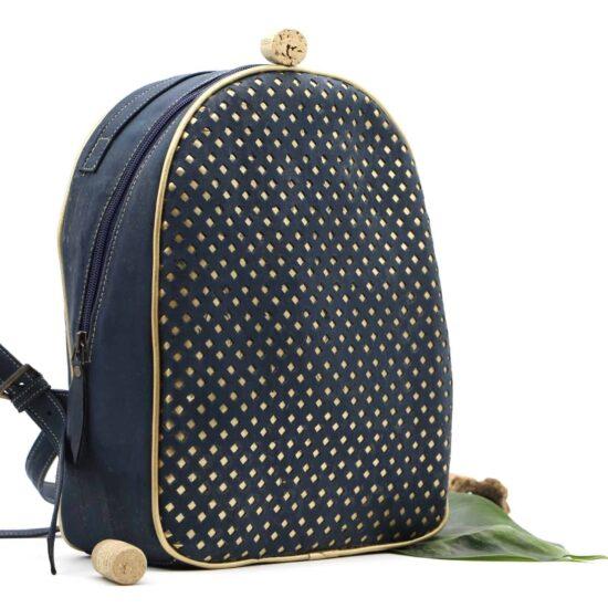 Rucksack aus Kork Leder