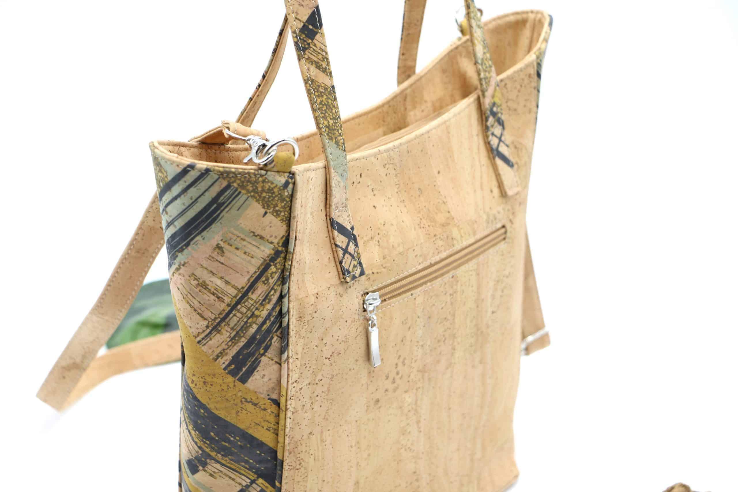 Kork Tasche mit Umhängeriemen
