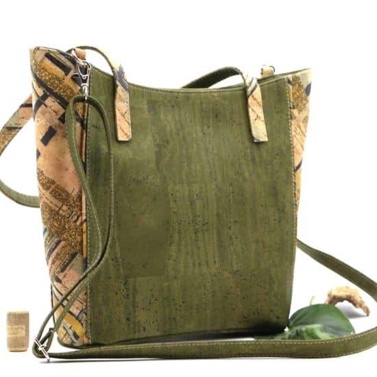 Kork Tasche mit abnehmbaren Riemen
