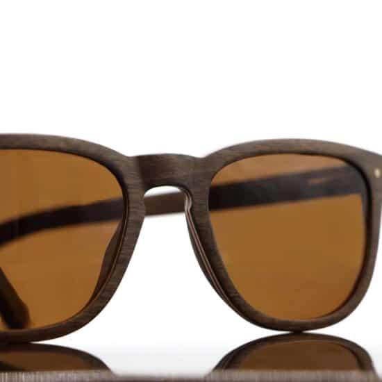 Holzsonnenbrille