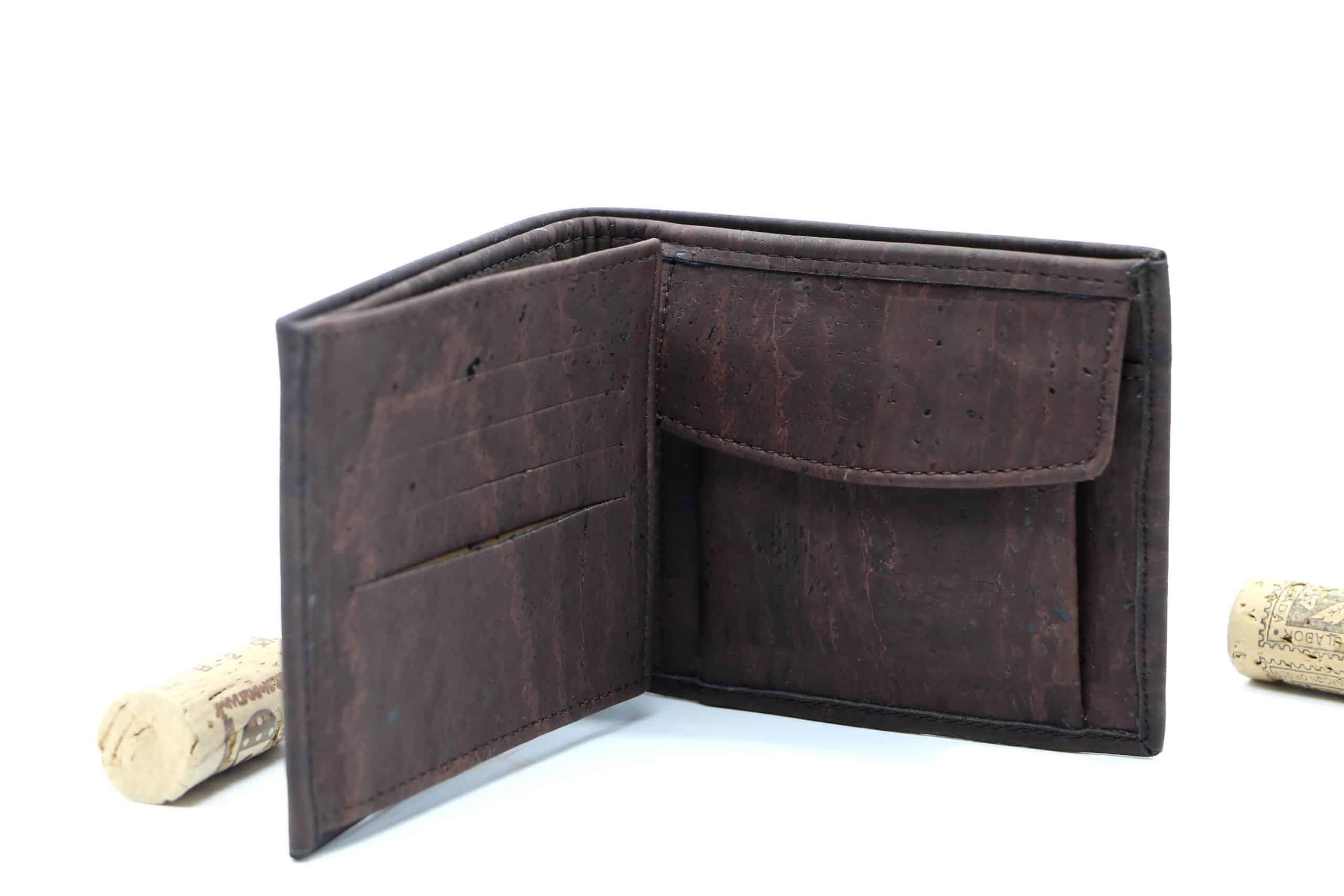 Geldtasche aus Kork