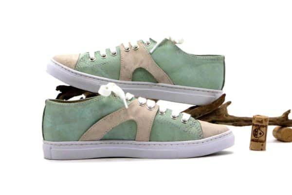 Schuhe aus Kork