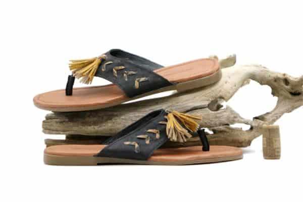 Sandalen aus Kork