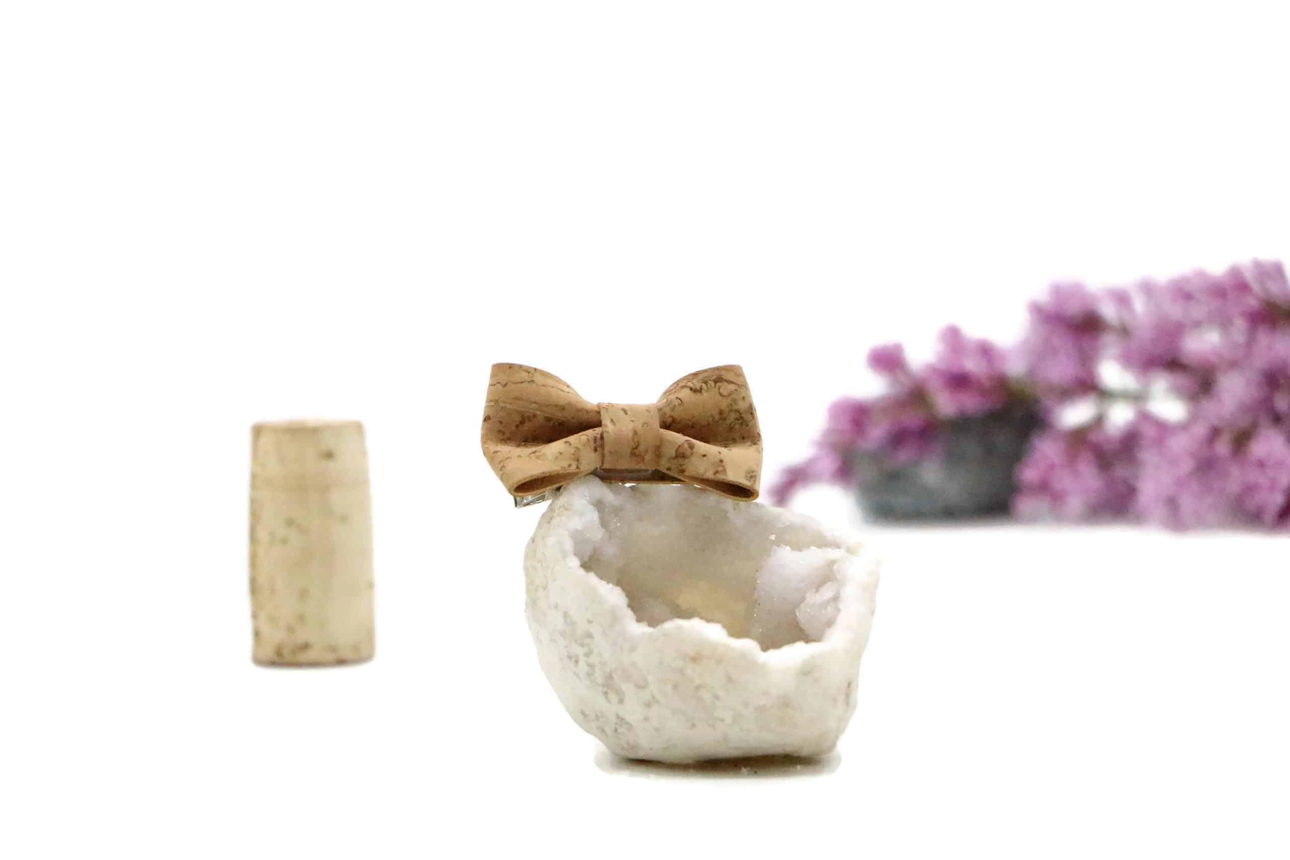 Kork Haarschleife - Kork Haarspange für Mädchen und Damen