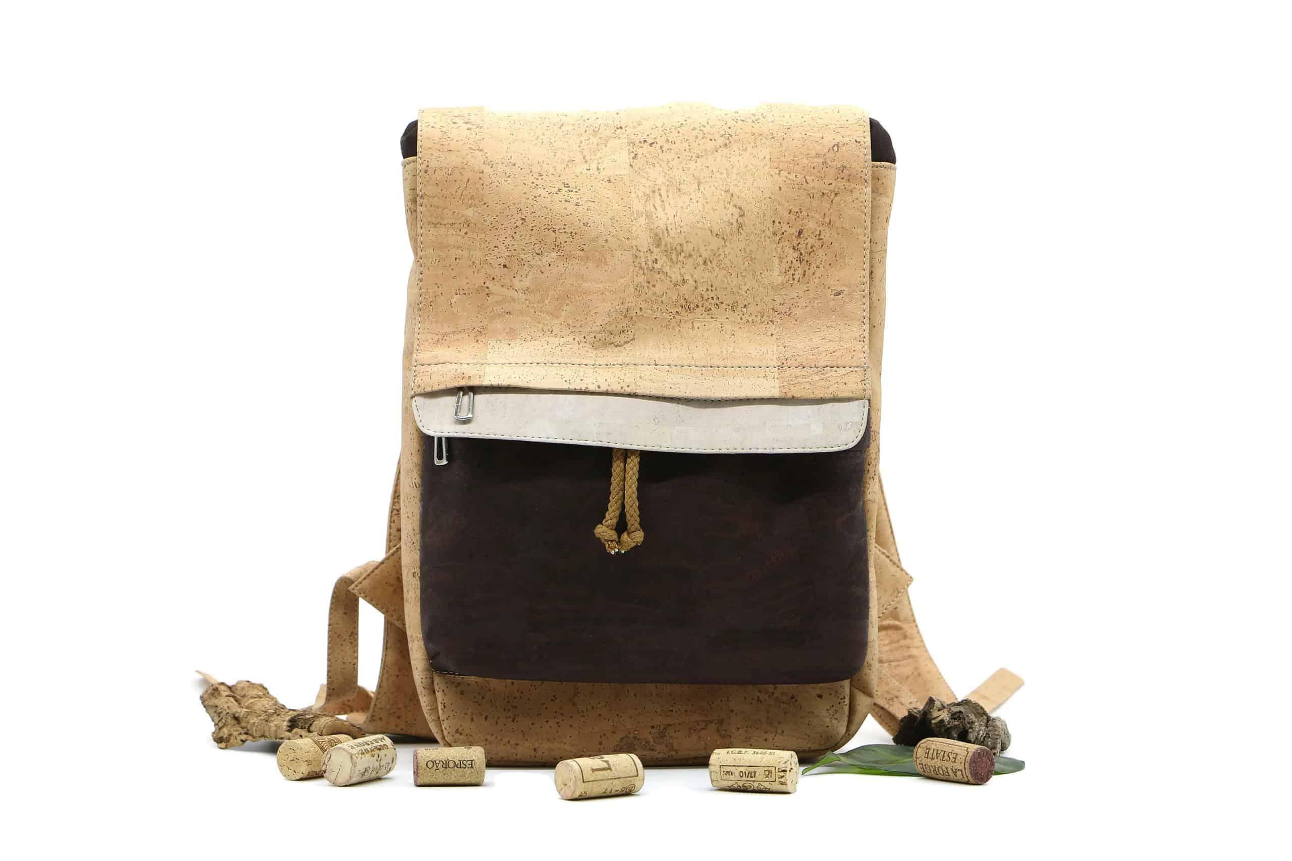 Kork Rucksack - School Bag Style