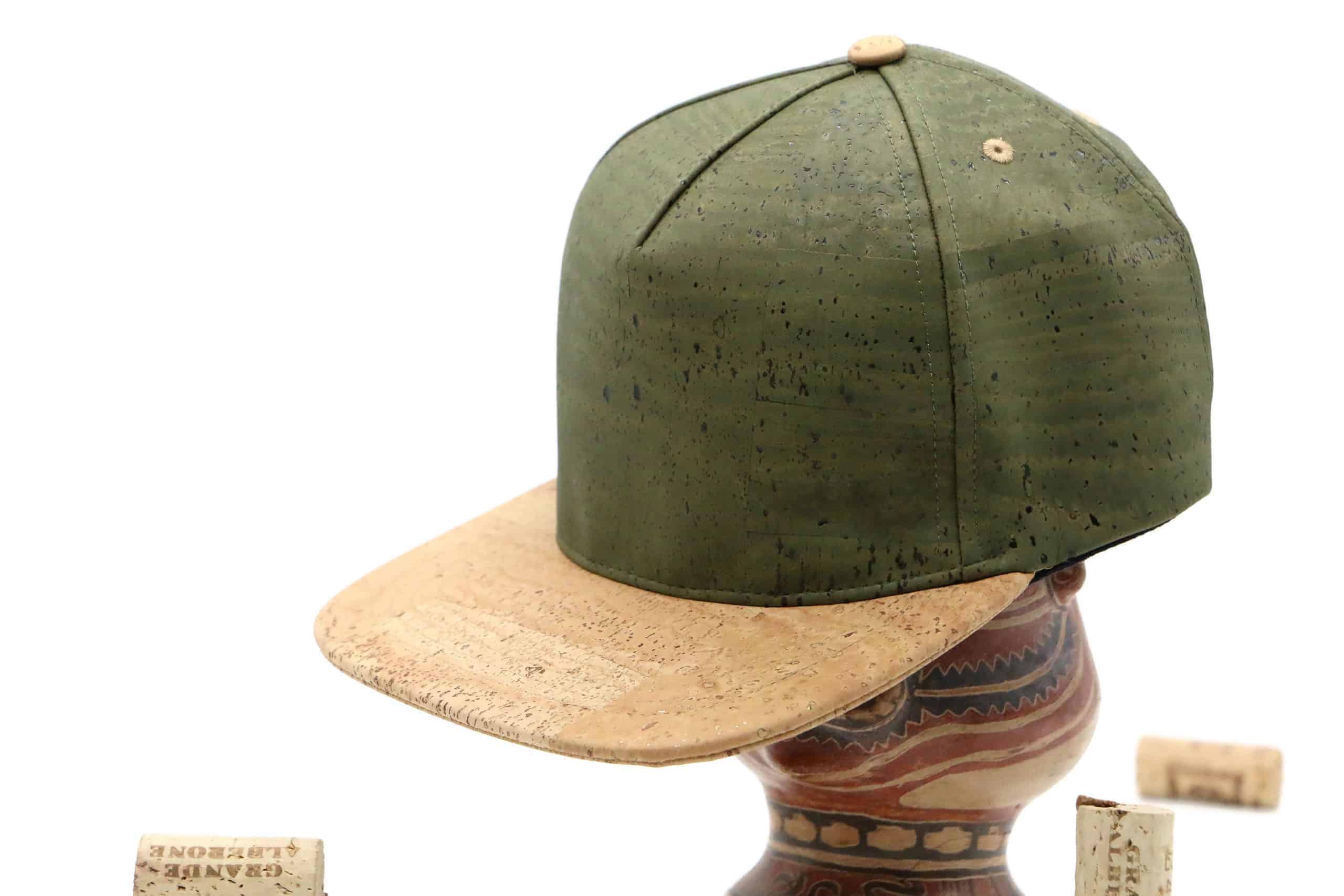 Cork Cap mit Snapback Verschluss