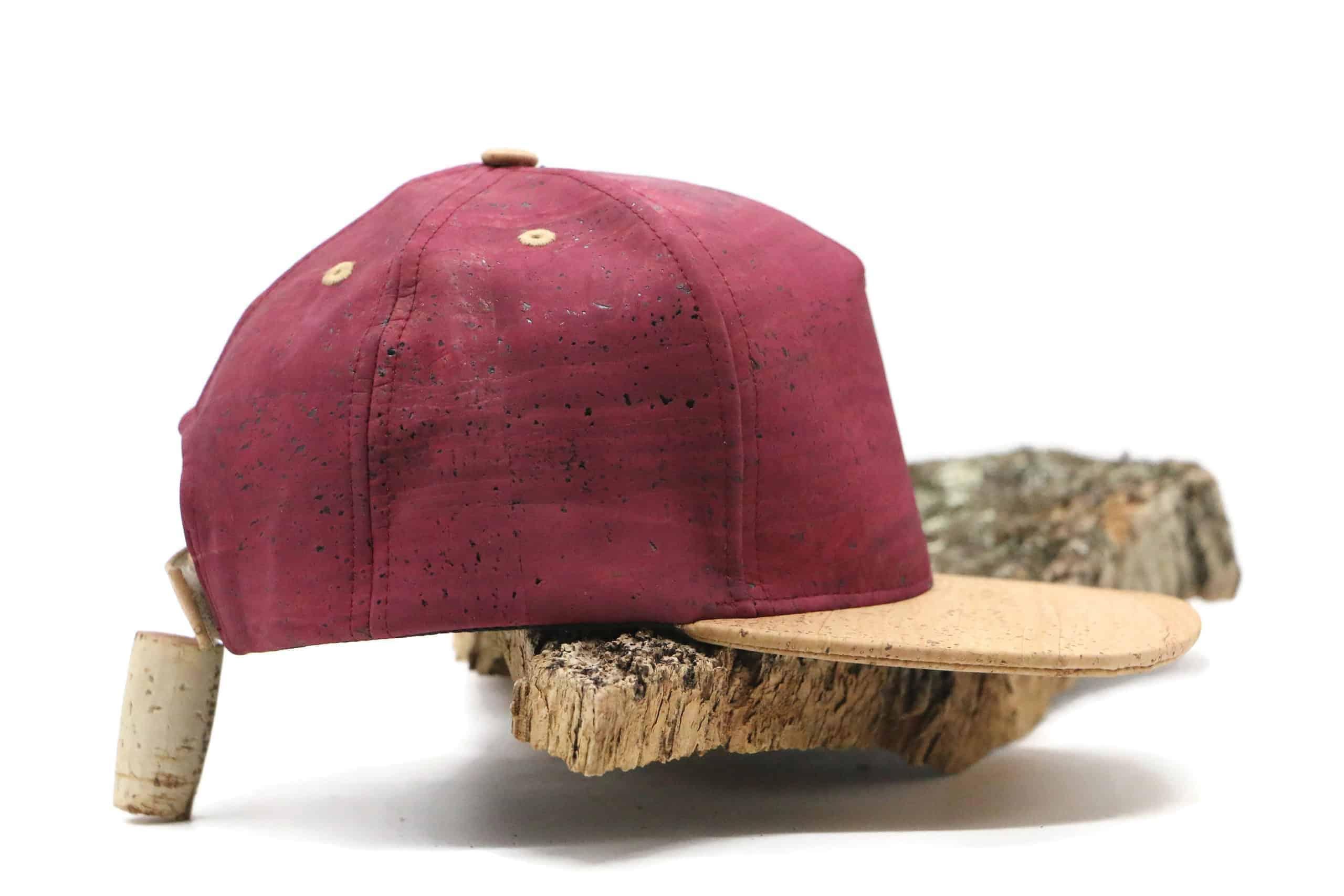 Cap aus Cork PABLO bordeaux classic