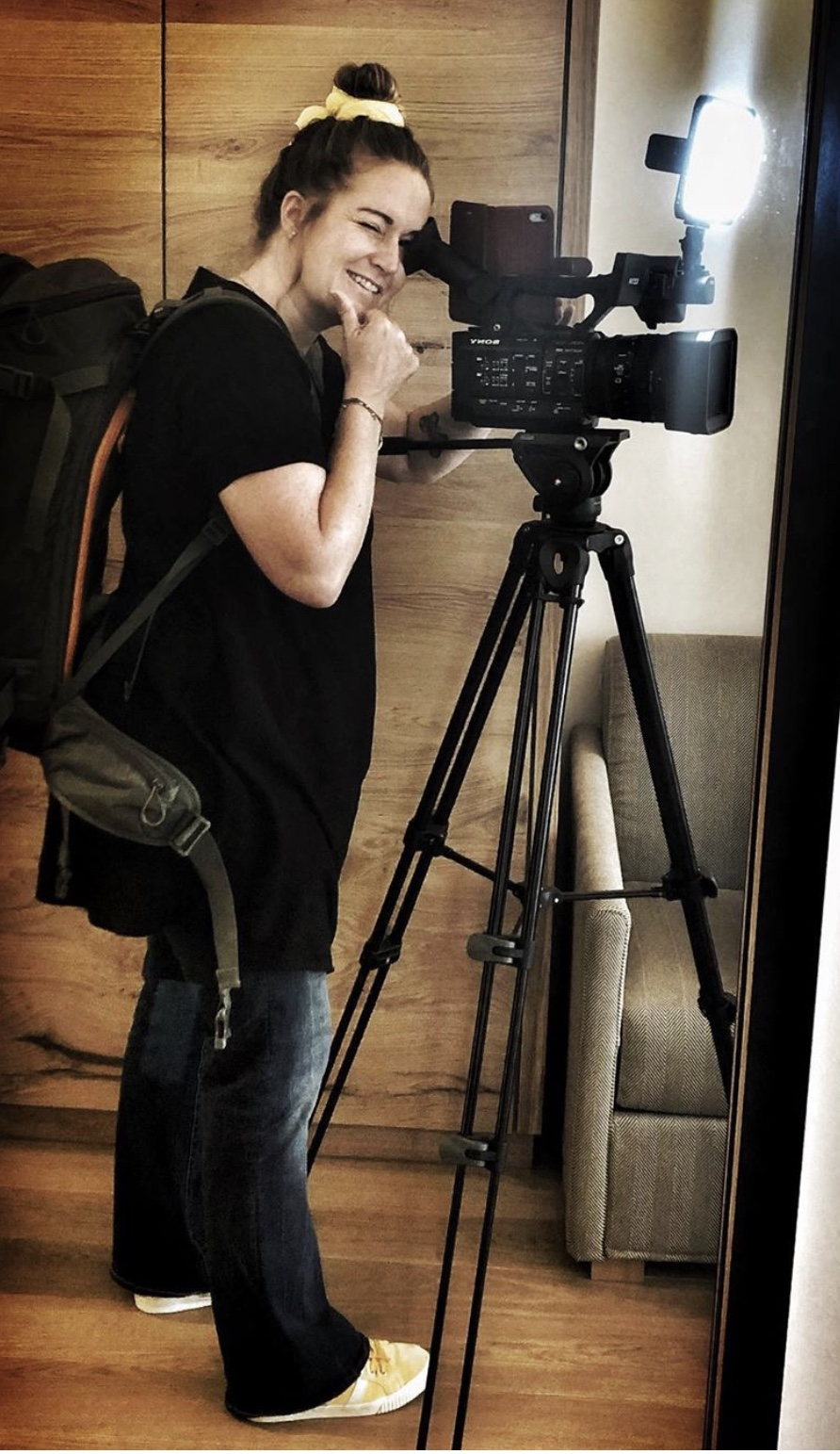 Drearbeiten an einem Imagefilm für Hotel Hochfilzer - Simone Embacher - Buttervogel