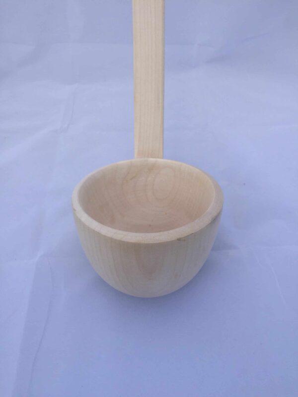grote houten soeplepel