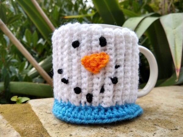Snowman Cup Cosy - main product image