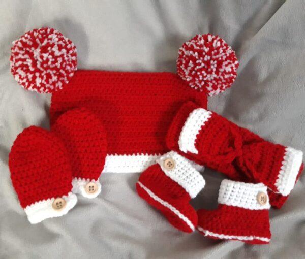 Crochet winter set (babies/child) - main product image