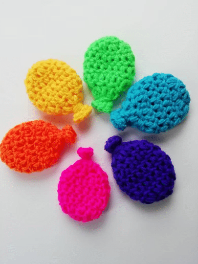 Eco friendly, Reusable water balloons, garden games, paddling pool, bright rainbow set (6 colours) - main product image
