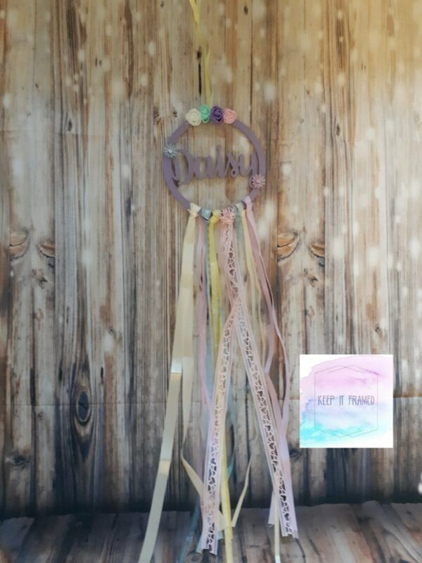 Personalised dreamcatcher - main product image