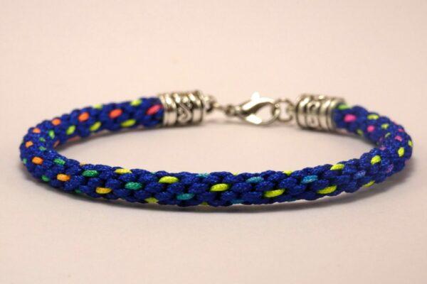 Blue dots bracelet - product image 3