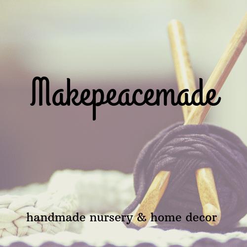 Makepeacemade shop logo
