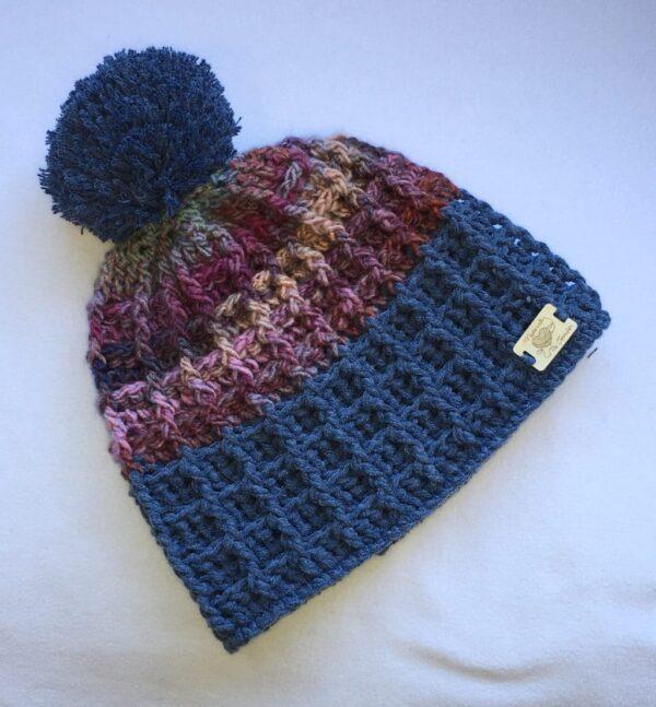 Hand crochet hat - main product image