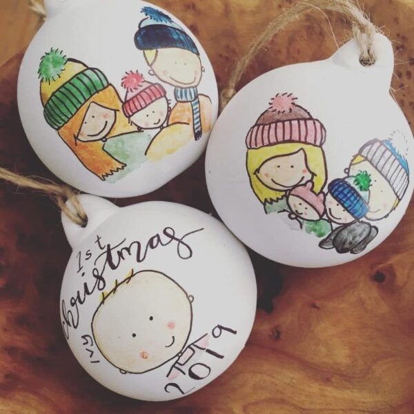 Illustrated Baubles - product image 5