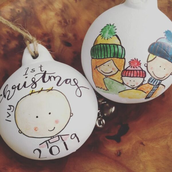Illustrated Baubles - main product image