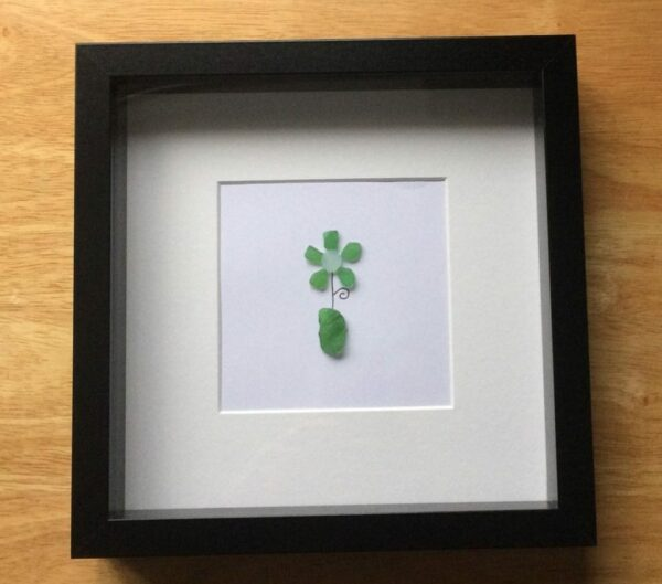 Sea glass flowers - main product image