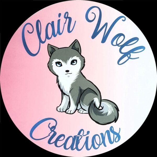 Clair Wolf Creations shop logo