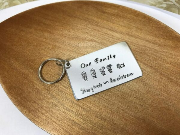 Family Key Ring - product image 3