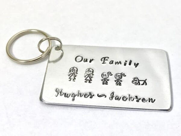 Family Key Ring - main product image