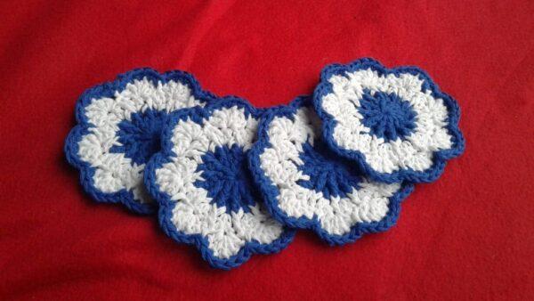 4 Crochet Coasters - product image 2