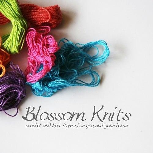 Blossom Knits GB shop logo
