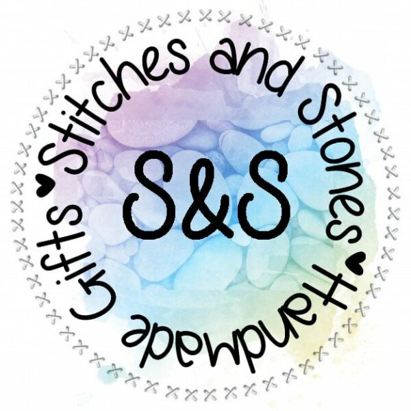 Stitches and Stones shop logo