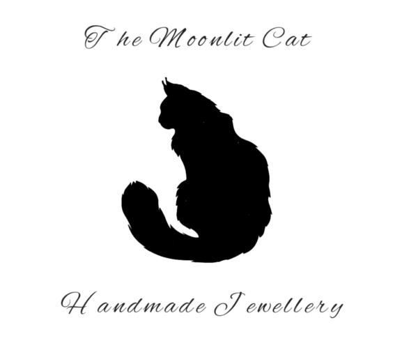The Moonlit Cat shop logo