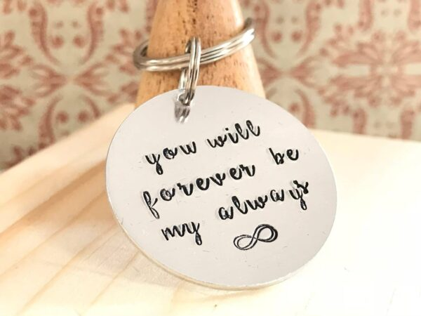 Infinity Love Token Key Ring - product image 2
