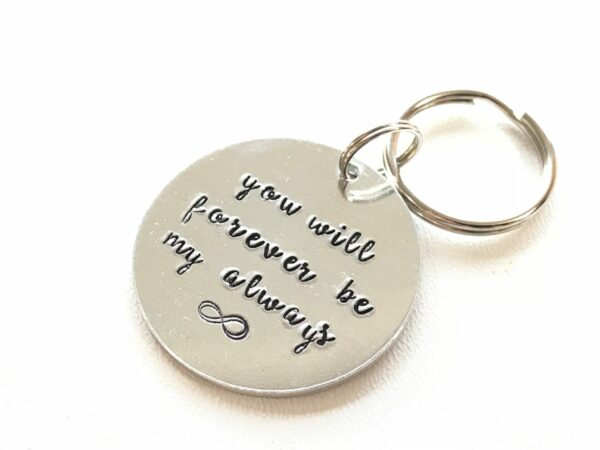 Infinity Love Token Key Ring - product image 3