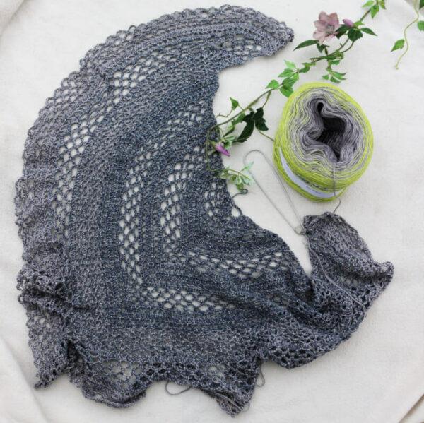 Jo's Lacy Crochet Shawl - main product image