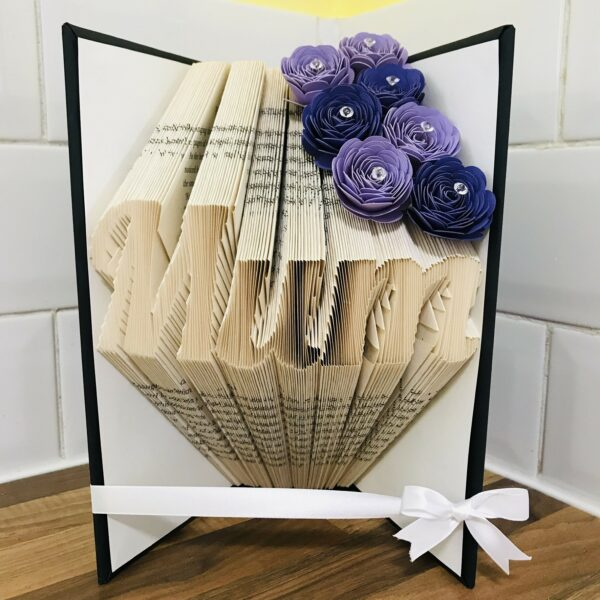 Mum Book Fold Art Mother's Day Birthday Gift - product image 4