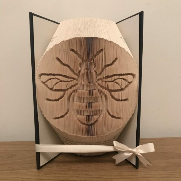 Bee Book Fold Art Birthday Gift Custom - product image 3