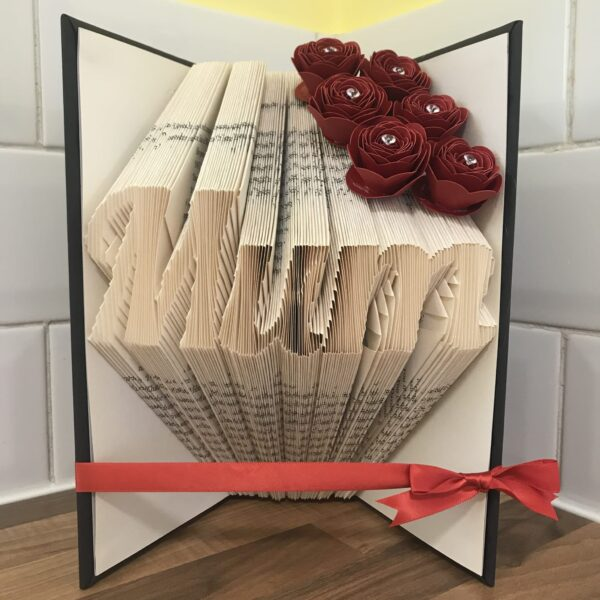 Mum Book Fold Art Mother's Day Birthday Gift - product image 5