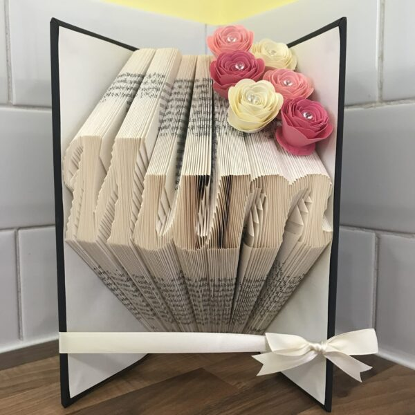 Mum Book Fold Art Mother's Day Birthday Gift - main product image