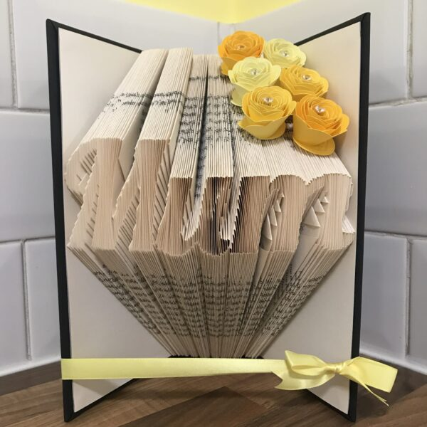 Mum Book Fold Art Mother's Day Birthday Gift - product image 2