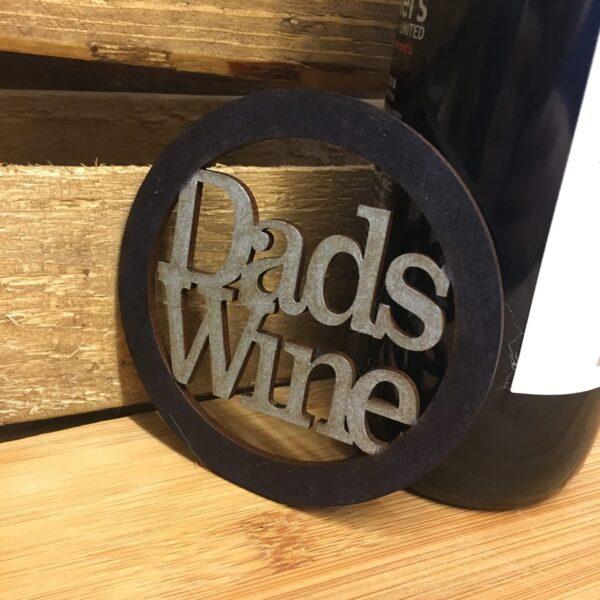Dads Wine Coaster - product image 3