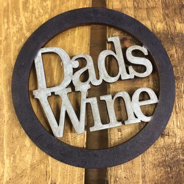 Dads Wine Coaster - main product image