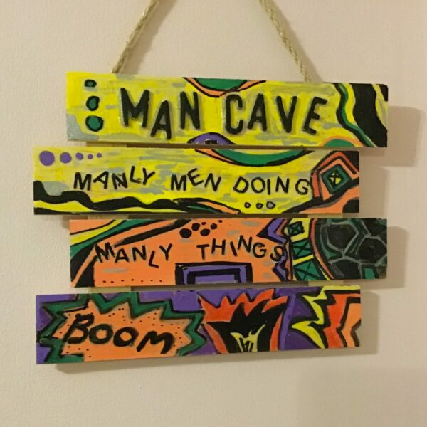 Man cave sign - main product image