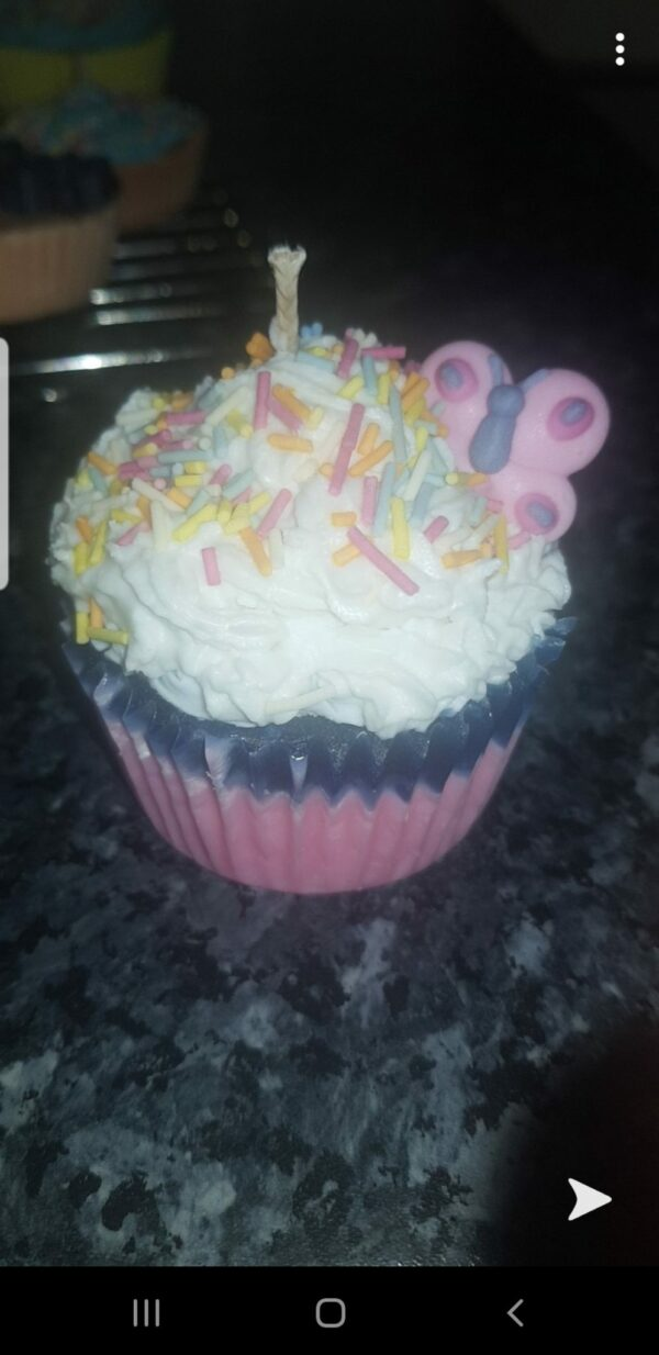 Cup cake candles - product image 3