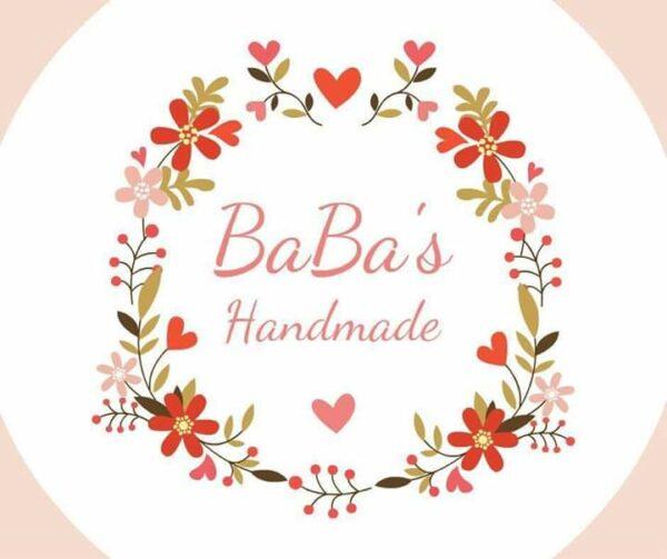 Baba's Handmade shop logo